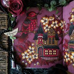The Addams Family House [part 2]    #coloriage #coloring #colouring #coloriagepouradulte #adultcoloring #adultcolouring #coloringbook #livredecoloriage #arttherapie #arttherapy #pens #feutres #posca #gelpen #stabilo #stabilo68 #stabilo88 #fabercastell #fabercastellpitt #mycreativeescape  #daydreams #dagdrömmar #hannakarlzon