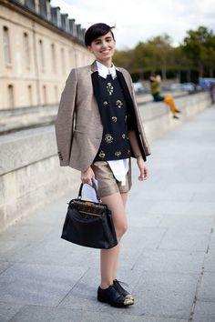 street style white miu miu bag - Google Search