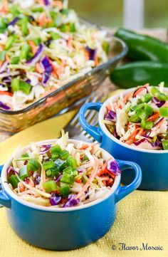 Cajun Honey Jalapeño Slaw is a light and refreshing vinegar-based cole slaw, with no mayonnaise, but sweetened with honey, and spiced with cajun seasoning, worcestershire, and hot sauce. Makes a great side dish for a barbecue, picnic, or pot luck. Read more at http://flavormosaic.com/cajun-honey-jalapeno-slaw/#1fqEmXLbmm7fx1eJ.99