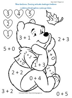 Math Coloring Worksheets, Kindergarten Math Worksheets, Preschool Worksheets, Math 4 Kids, Fun Math, Homeschool Preschool Curriculum, Preschool Math, Drawing Activities, Preschool Activities