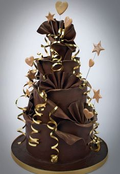 Chocolate Boss Wedding Cake pictures