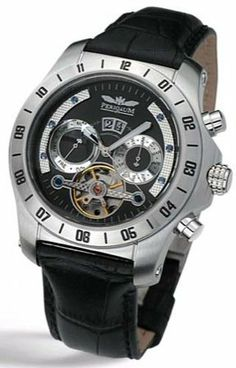Perigaum Transatlantic Automatic P-0605-Ss Perigaum. $265.00. 1 Year Warranty. 43mm in diameter; 13mm in thickness. 316L solid stainless steel case with see through case back. Scratch resistant mineral crysta. 35 jewel automatic movement. Save 43% Off!
