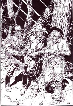 Moebius Illustrations 7/8