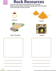 Worksheets Natural Resources For Kids Worksheets pinterest the worlds catalog of ideas worksheet natural resources rocks this could be used to help students