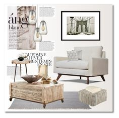 """modern rustic"" by limass ❤ liked on Polyvore featuring interior, interiors, interior design, home, home decor, interior decorating, Anja, Été Swim, Dot & Bo and ESPRIT"