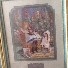 Story time by Bettie-Hebert-Felder.I really loved this painting,I wish I could have save it for myself.B