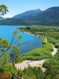 Lago Puelo, prov. de Chubut, Argentina, por maxtdf Cool Landscapes, Beautiful Landscapes, Beautiful World, Beautiful Places, Beautiful Scenery, Amazing Places, Beautiful Pictures, Patagonia, Places Around The World