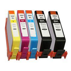 5x HP 364 XL INK CARTRIDGES FOR HP DeskJet 3070A 3520 Officejet 4610 4620 4622 Photosmart 5510 5520 6510 6520 7510 7520 Printer Nail That Deal http://nailthatdeal.com/products/5x-hp-364-xl-ink-cartridges-for-hp-deskjet-3070a-3520-officejet-4610-4620-4622-photosmart-5510-5520-6510-6520-7510-7520-printer/ #shopping #nailthatdeal