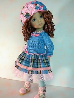 Outfit-for-the-doll-13-034-Dianna-Effner-Little-Darling-shoes-new