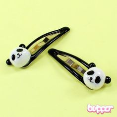 Panda hiuspinnit - 2 kpl 1,90€