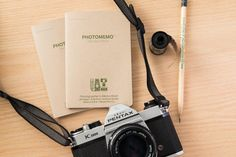 PhotoMemo Photographer's Memo Book 2 Pack