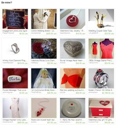 Be mine? by Jenn Simmons from FripperyFrocks. www.etsy.com/treasury/NjUxNzU3NXwyNzIyOTg1NjM1/be-mine