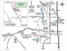Grand County Zoning map Colorado Counties