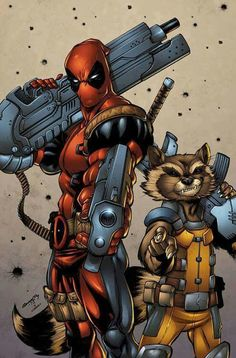 Deadpool and Rocket