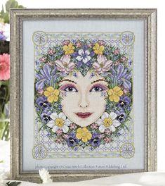 Spring Goddess - Cross Stitch Pattern