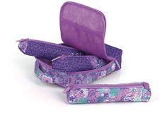 Portatodo Spring de la marca española de bolsos y maletas Gabol en su interior, lleva tres portatodos, pon dentro de ellos todo el material escolar en www.papelicopy.com