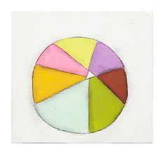 """Colorwheel 24"" by Sara Matson Westover"