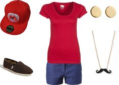 """Mario"" by realgirlsdribble on Polyvore"