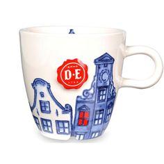 Koffie servies - Koffiemokken - Cappuccinomok Hollands Trots - Douwe Egberts
