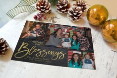 Christmas card template, Photoshop template, Christmas photo card, Photoshop Christmas template, Christmas card, template Christmas, Card by WolcottDesigns on Etsy