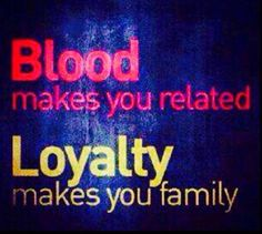 And that's how it is if you don't like the sound of truth then loyalty you ain't ready for it!!!!