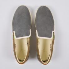 Paul Smith Shoes - Grey And Taupe Suede Blears Trainers