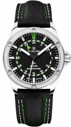 Damasko Watch DK 200 Leather Pin