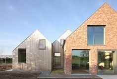 Image result for contemporary pitched roof houses