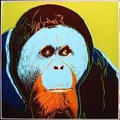 Orangutan | Andy Warhol, Orangutan (1983)