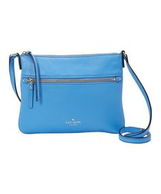 Alice Blue Gabriele Leather Crossbody Bag #zulily #zulilyfinds