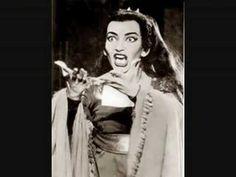 Maria Callas Mede Dallas 1958 LIVE!! - YouTube