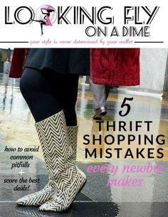 Download your free guide: Thrift Shopping Mistakes All New Thrifters Make {and how to avoid them!}