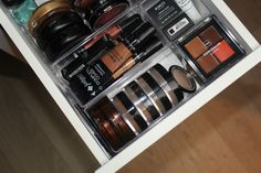 Ideeën voor het opbergen van je make-up