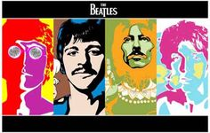 The Beatles Psychedelic Pop Art Music Poster 11x17