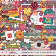 Memory Keeper Digital Scrapbooking Kit   ScrapVine