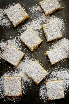 Classic Lemon Bars by joy the baker