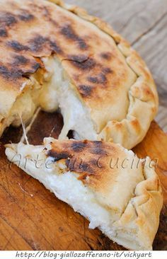 Stuffed focaccia! Italien site with lots of good looking recipes!