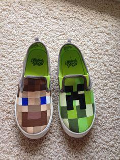 Minecraft creeper or steve boys/girls by CraftyTemptations410