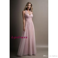 Misty Pink Bridesmaid Dresses Soft Tulle Halter Wedding Party Dresses 2017 New Arrival Bridesmaid Gowns Cheap Chiffon Bridesmaid Dresses Bridesmaid Dresses Halter Bridesmaid Dresses Online with $99.0/Piece on Lpdress's Store | DHgate.com