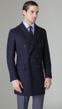 Tireless 2018 Fashion Mens Woolen Coat Business Casual Windbreaker Slim Fit Coats Men Business Outwear High Quality Classic Trench Coat Wool & Blends Jackets & Coats