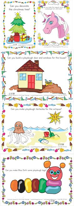 Play dough templates for little kids. Header Image, Play Dough, Unicorn, Web Design, Templates, Logos, Comics, Beach, Illustration