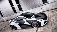Audi TT camo