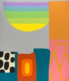 "Sean Greene, Ok For Now, 2013, acrylic on canvas, 62 1/2 x 53 1/2"" at William Baczek Fine Arts www.wbfinearts.com"