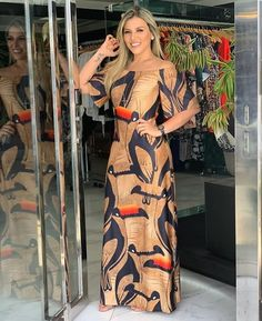 1, 2, 3, 4 ou 5 ? 🤔 ⠀⠀⠀⠀⠀⠀⠀⠀⠀⠀⠀⠀⠀⠀⠀⠀⠀⠀⠀⠀⠀⠀⠀⠀⠀⠀ ✔️{Deixe sua opinião nos comentários} ⠀⠀⠀⠀⠀⠀⠀⠀ 🍃 Siga Stylish Dresses, Cute Dresses, Casual Dresses, Long Dress Fashion, Fashion Dresses, Vestidos Chiffon, Short Summer Dresses, Diva Fashion, African Dress