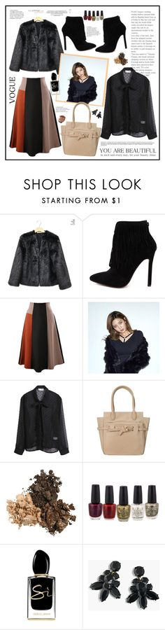 """Yesttyle look"" by cindy88 ❤ liked on Polyvore featuring ANS, Giorgio Armani and J.Crew"