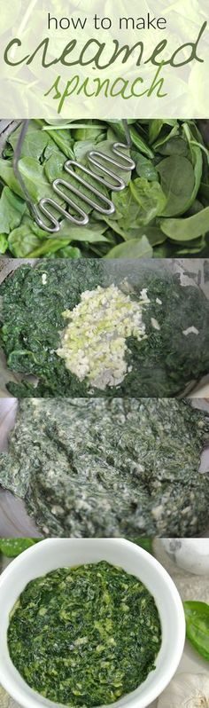 Looking for a low carb side dish? Look no further because this creamed spinach recipe is a healthy and easy choice! @ www.tasteaholics.com - We love making this recipe to go along a low carb dinner like fish or crispy chicken thighs. It's creamy, cheesy and ready in minutes! Pin it for dinner later! #crispyfishrecipes