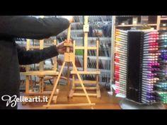 Cavalletti per pittura: da tavolo - YouTube