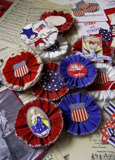 Fourth of july crafting kit | Flickr - Photo Sharing!