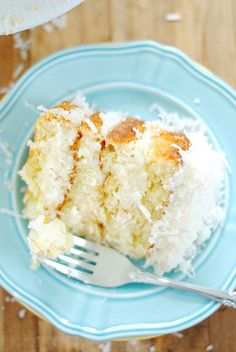 My favorite doctored up cake mix combined with my favorite from-scratch coconut buttercream. I love that this cake is both beautiful and simple.