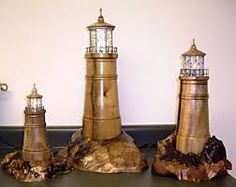 woodturning lighthouse - Google Search